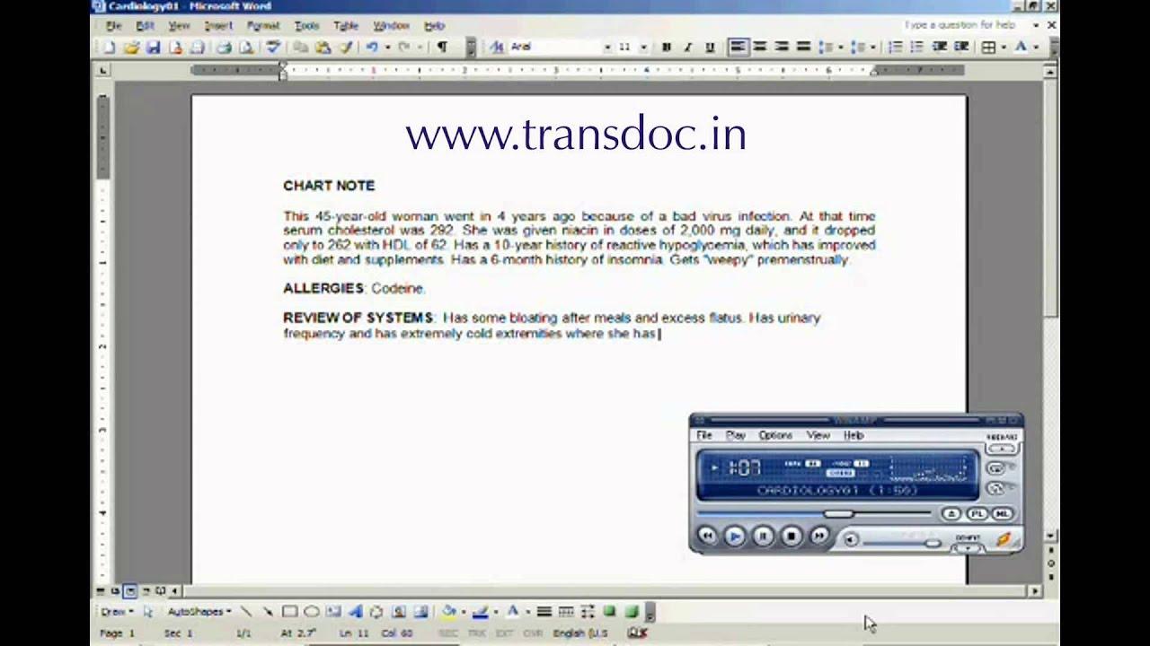 Medical Transcriptionist Job Vacancies in Technopark ...  Medical Transcription Report