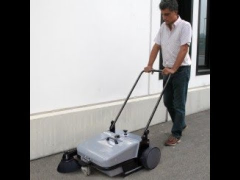 (Columbus UK) CTM BSW 651 Pedestrian Sweeper