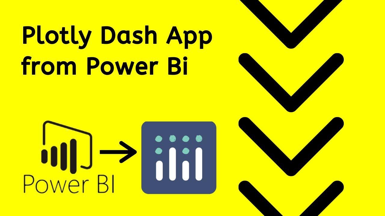 Convert a Power Bi Dashboard to Dash Plotly in Python