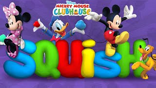 Mickey Mouse Clubhouse - Full Episodes of Clay Maker/Squish Game - Kids Disney Jr. App
