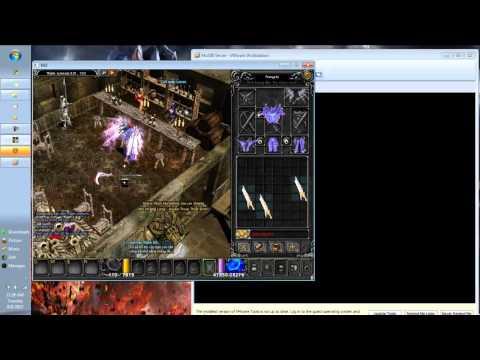 Hướng dẫn chơi MU offline ss6 3   Add đồ bằng Titan editor trên VMware