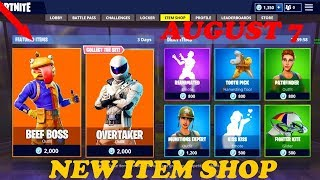 *NEW* Fortnite DAILY ITEM SHOP LIVE COUNTDOWN AUGUST 7 - Fortnite Battle Royale! V-BUCKS GIVEAWAY!