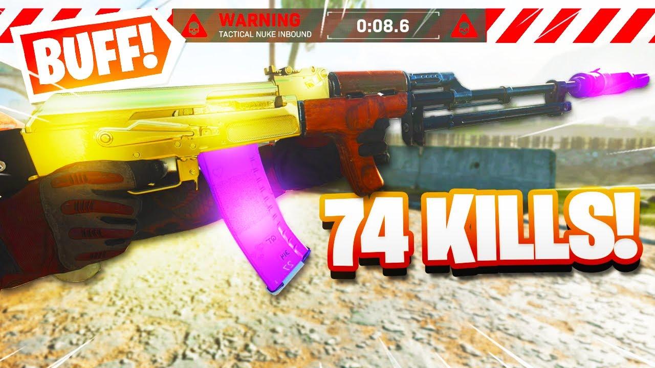 NEW AK-47 BUFF.. NEW BEST ASSAULT RIFLE! - BEST AK-47 CLASS MODERN WARFARE! (Best Class Setups MW)
