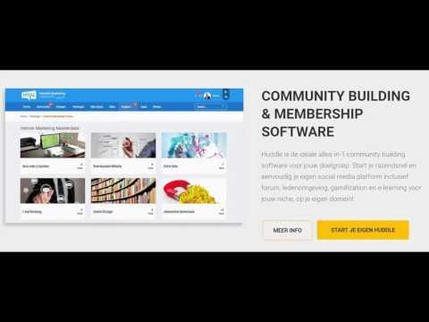 Huddle: Forum, Community & Membership Software - Tonny Loorbach - IMU.nl