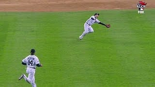 Iglesias makes incredible play to rob Ortiz