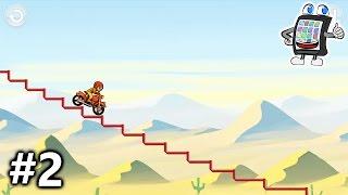BIKE RACE App deutsch #2 | DAS ZERFETZT! MOTORRAD UNFÄLLE ohne Ende | Spiel mit mir Apps + Games