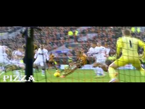 Халл Сити - Манчестер Юнайтед 2-3, голы, 26/12/2013