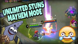 LOLITA IN MAYHEM WITH INFINITE STUNS! | WOLF XOTIC | MOBILE LEGENDS