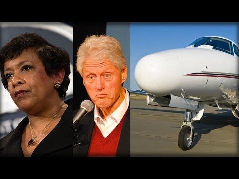BREAKING: CLINTON, LYNCH SECRET TARMAC MEETING BOMBSHELL… THEY'RE GOING DOWN