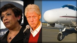 BREAKING: CLINTON, LYNCH SECRET TARMAC MEETING BOMBSHELL… THEY'RE GOING DOWN