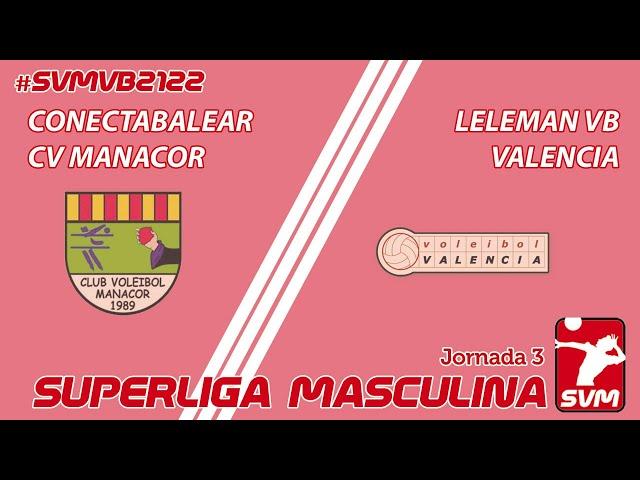 CONECTABALEAR C.V.MANACOR - LÉLEMAN VB VALENCIA