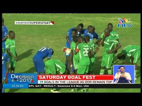 19 goals in the KPL as Gor Mahia remain top