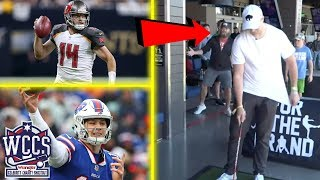 Josh Allen and Ryan Fitzpatrick FEUD at the Wrangler Celebrity Charity Shootout