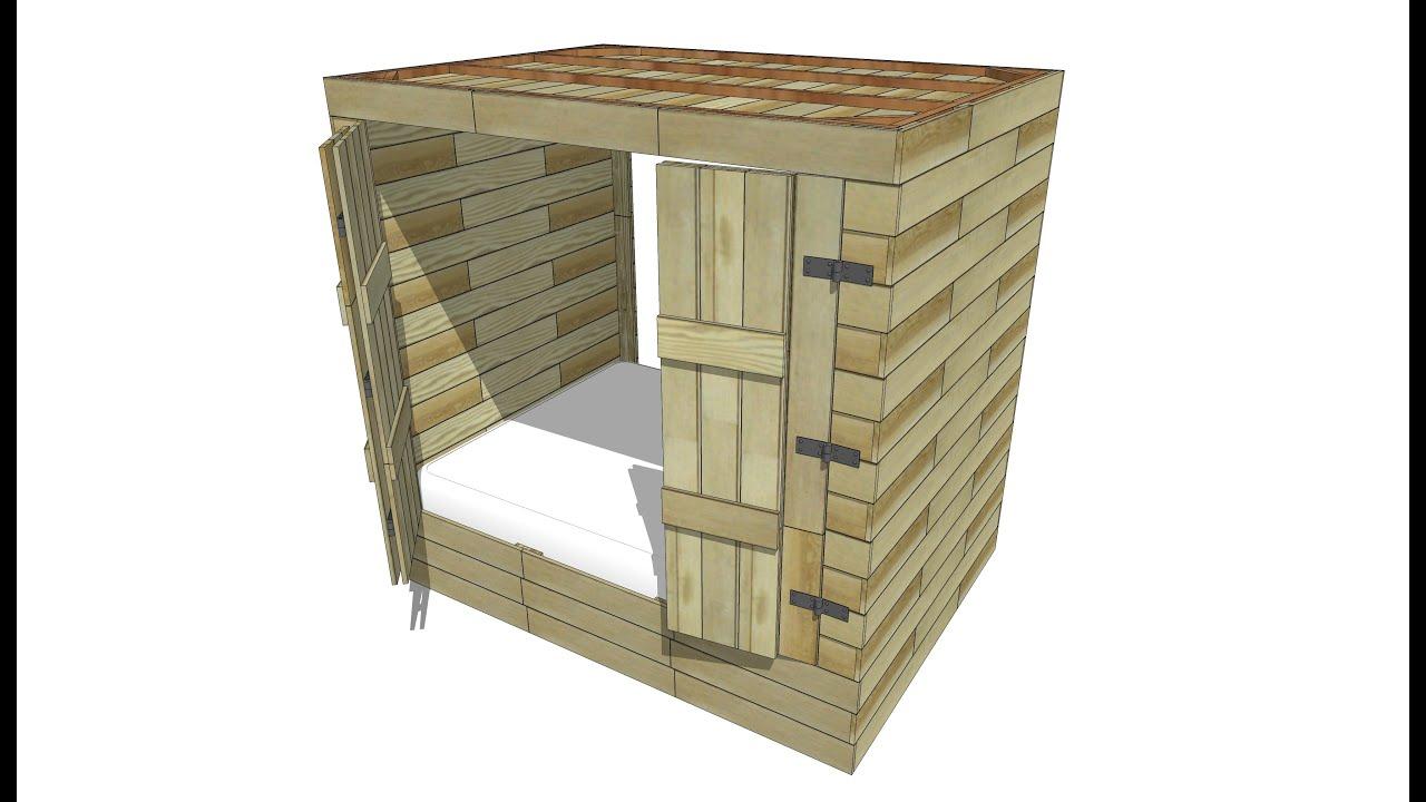 Lit Baldaquin En Bambou - Maison Design - Wiblia.com