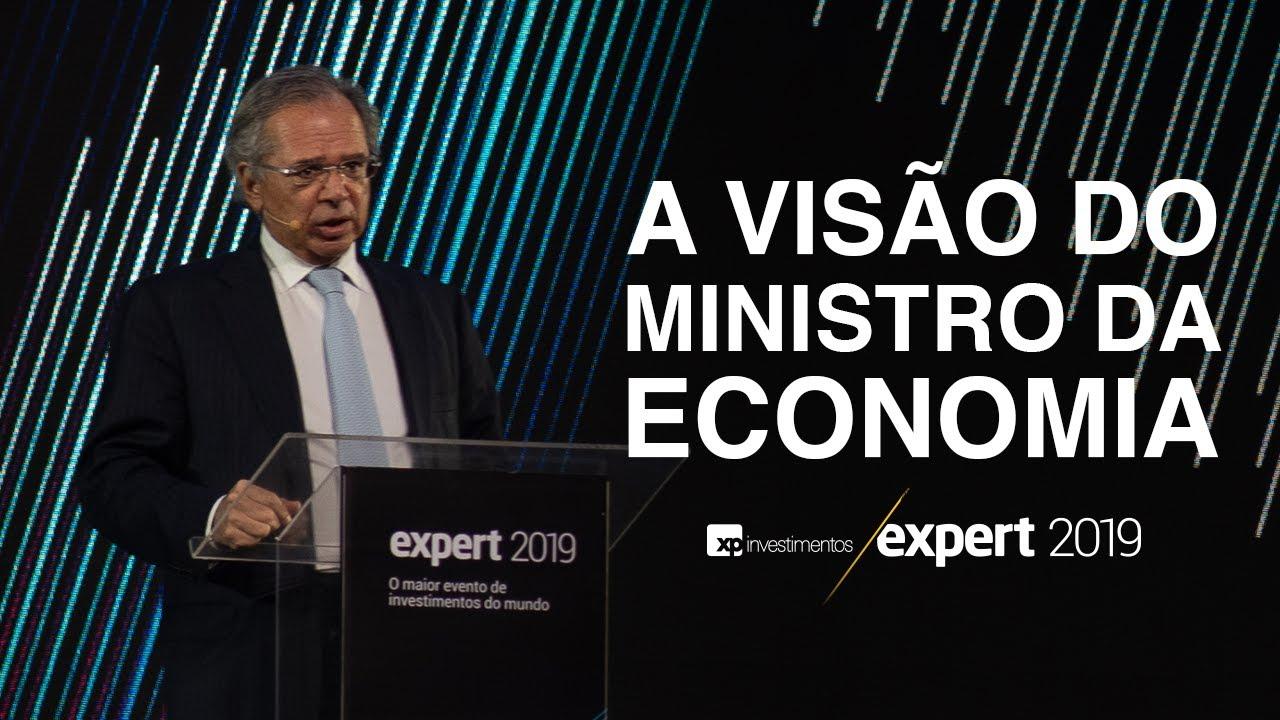 """Paulo Guedes na Expert 2019: """"somos 200 milhões de trouxas"""""""
