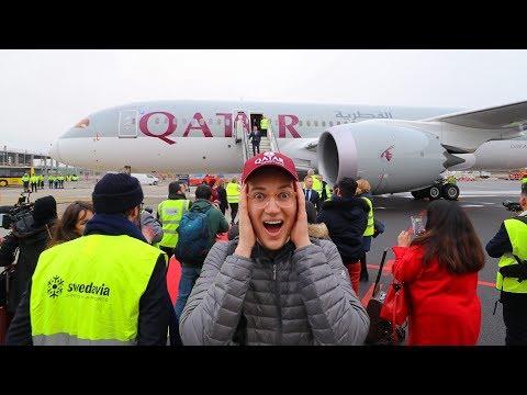 Qatar Airways Inaugural Flight To My Hometown (& I Was Onboard)