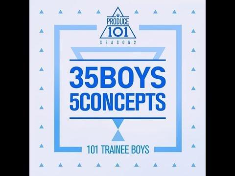 [Full Album] PRODUCE 101 Season 2 // 35 Boys 5 Concepts