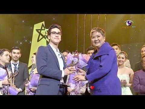 [Eng Sub] Nadech received 9entertain Award ณเดชน์ คูกิมิยะ รางวัลขวัญใจมหาชน 9Entertain Award 2015