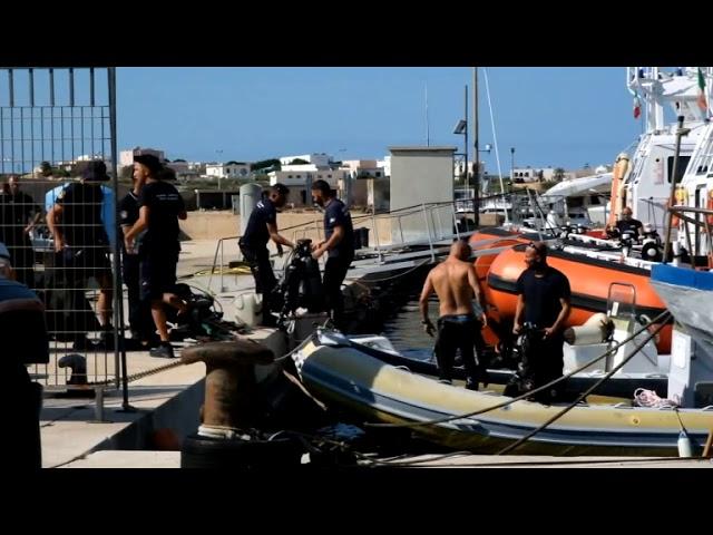Lampedusa,recuperati i primi corpi del naufragio [STUDIO 98]