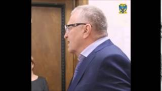 Жириновский про Васильеву и розовые тапочки! 15.10.14