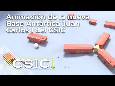 Animación de la nueva Base Antártica Juan Carlos I del CSIC