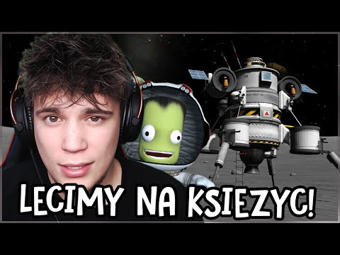 Lecimy na księżyc! - Kerbal Space Program #5 [kariera]
