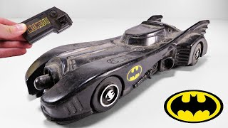 Restoration of Trashed Batmobile from Batman (1989)