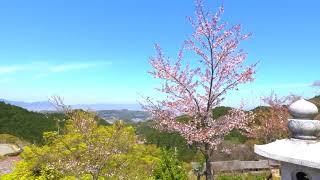 飛鳥地方映像素材2_高取城・壷坂寺