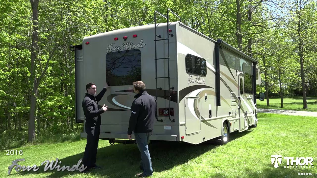 hight resolution of 2016 four winds class c motorhomes from thor motor coach