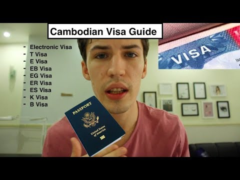 Every Visa In Cambodia ((Travel Guide)) 2018