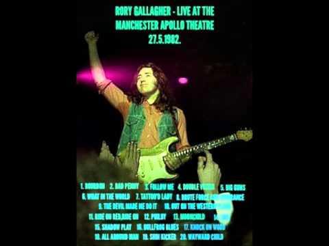 RORY GALLAGHER   LIVE AT THE MANCHESTER APOLLO THEATRE 27  5  1982