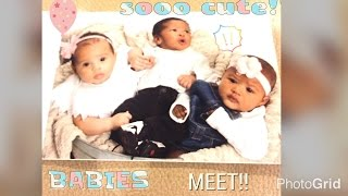 MY BABY MEETS OTHER BABIES!! (VLOG)