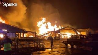 Brand Zuidland 04-05-2021