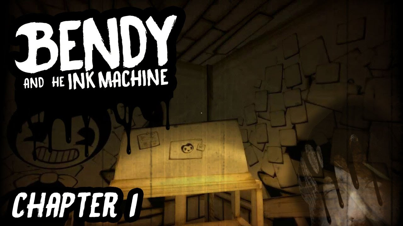 AMAZING INDIE HORROR GAME!// Bendy and the Ink Machine ...