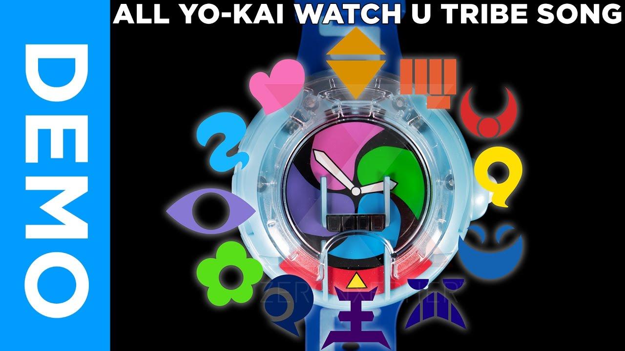all tribe songs dx yo kai watch prototype u dx妖怪ウォッチu