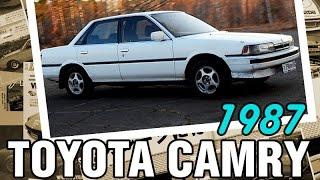 JDM: Toyota CAMRY SV20, 1987, 1S-Ci, 105 hp - краткий обзор