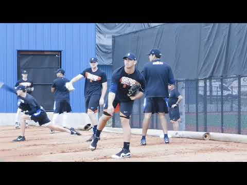 Tigers prospect Franklin Perez throws in Lakeland