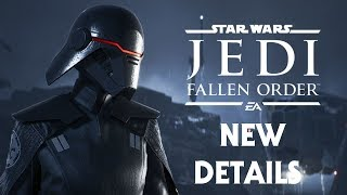 Star Wars Jedi: Fallen Order - New Details in the Official Star Wars Databank