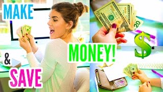 How to Make & Save Your Money! Tips You NEED To Know!