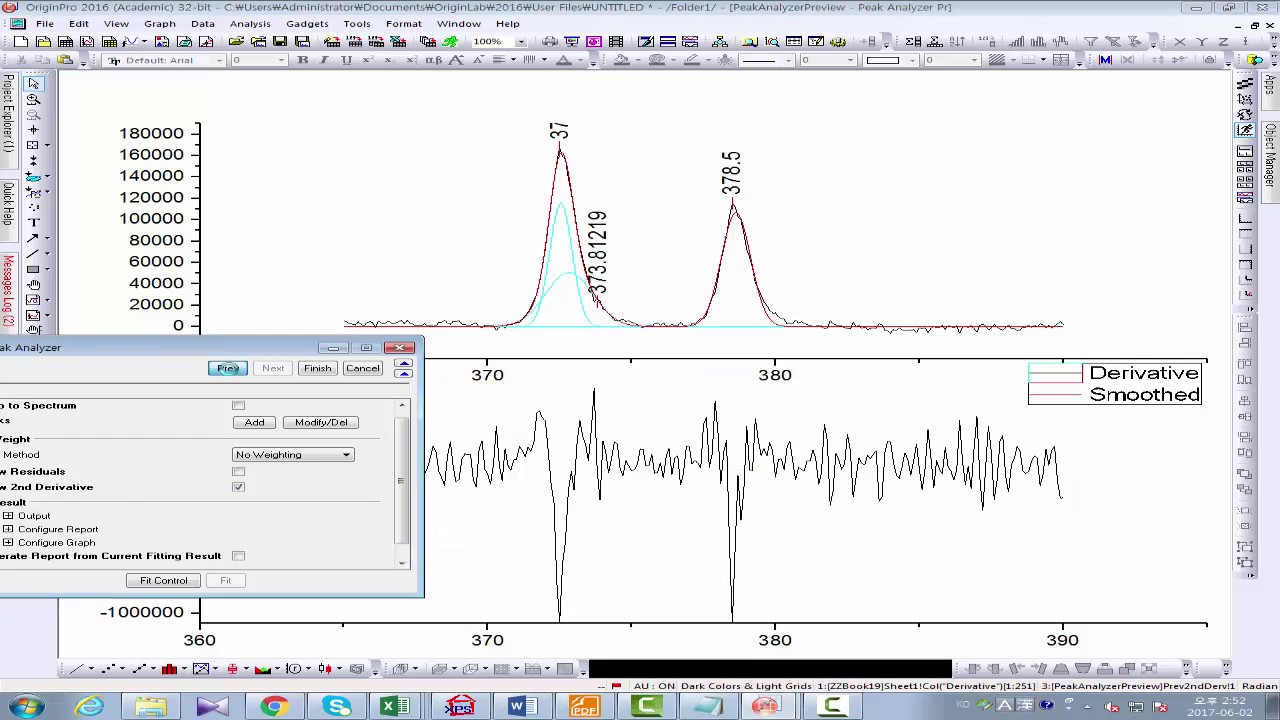 0c125021bce XPS peak deconvolution of silver (Ag3d) using Origin software - YouTube