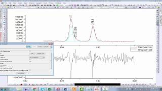 XPS peak deconvolution of silver (Ag3d) using Origin software