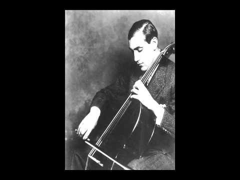 Tchaikovsky - None But the Lonely Heart (arr. Piatigorsky) - Gregor Piatigorsky & Karol Szreter