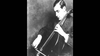 Tchaikovsky - None But the Lonely Heart (arr. Piatigorsky) - Gregor Piatigorsky & Karol Szreter