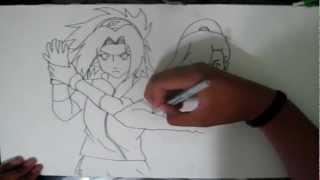 Sakura & Ino Speed Drawing