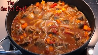 Easy Beef Hot Pot  One Pot Chef