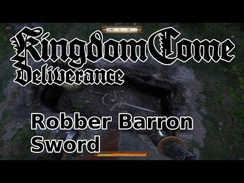 Robber Barron Sword (Unique weapon) - Kingdom Come: Deliverance
