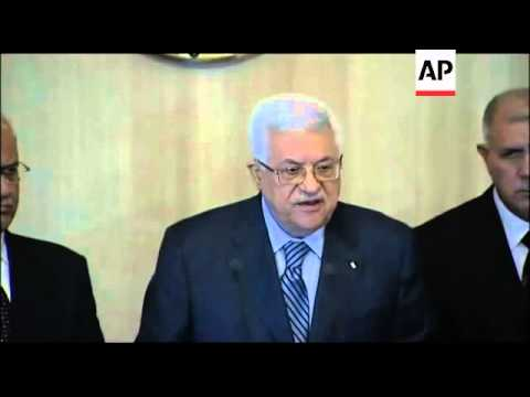 Egyptian president meets Palestinian counterpart to discuss peace process