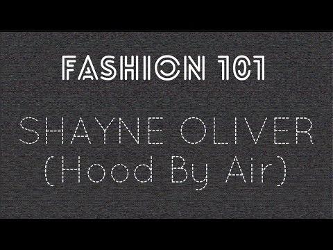Fashion 101: Shayne Oliver (HBA)