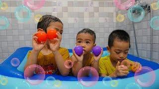 Bath Song | Nursery Rhymes & Kids Song - Tri Kids TV