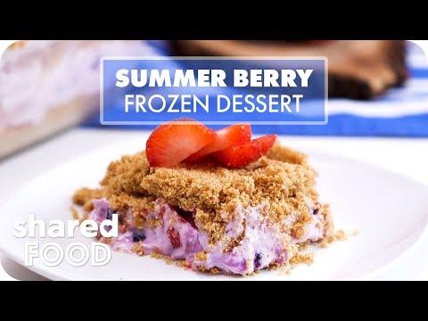 Summer Berry Frozen Dessert | Dessert